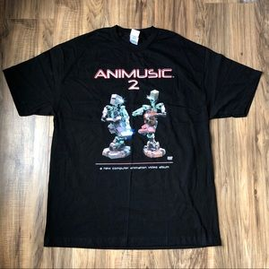Animusic 2 Computer Animation T Shirt XL